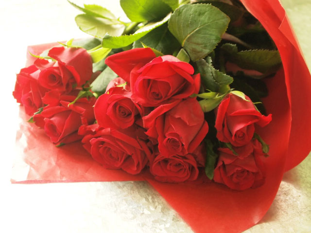 Very staple style this is! Simple bouquet of red roses<span>¥3,500(ex.tax)</span>
